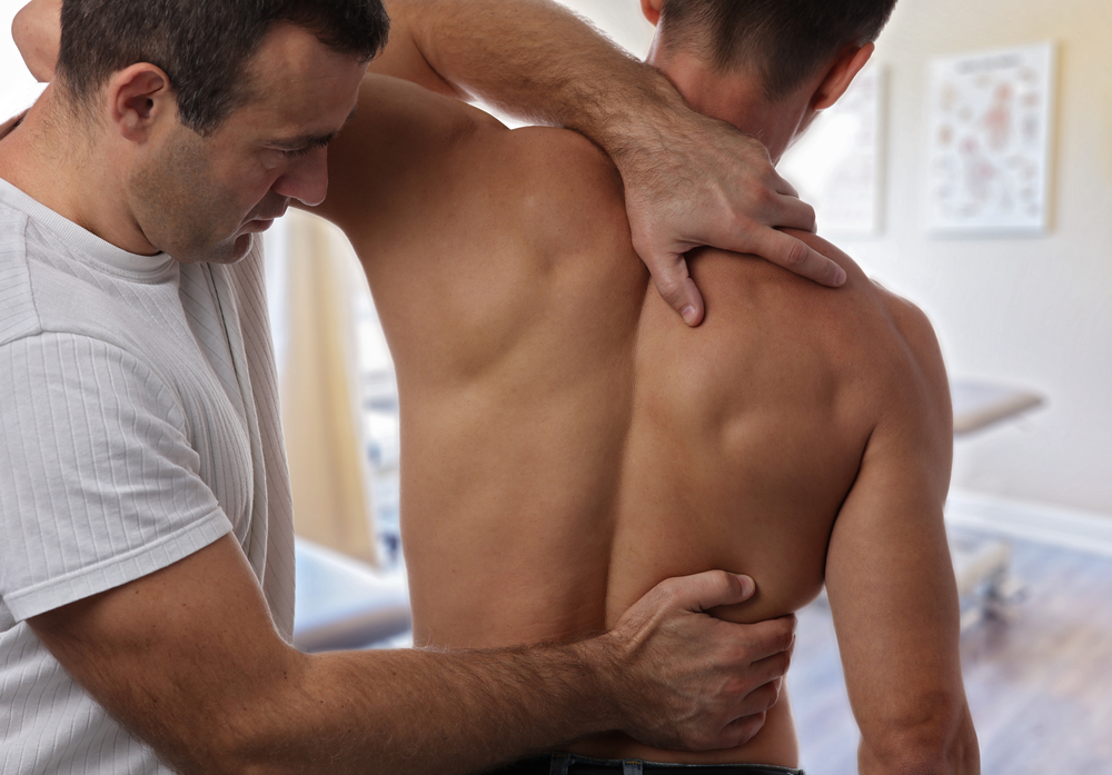 combining chiropractic care stretching
